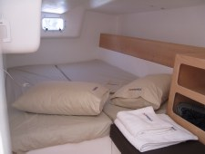 Right aft port side cabin Pogo12.50