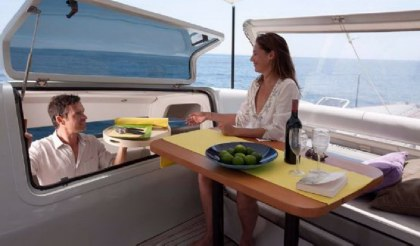 SIG45 cockpit dining