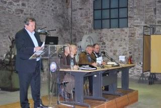 Ο δήμαρχος Λαυρεωτικής, κ. Κώστας Λεβαντής, και  η συντονιστική επιτροπή