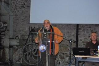 Ο κ. Λιάκος, περιφερειακός σύμβουλος και εκπρόσωπος των πράσινων οικολόγων