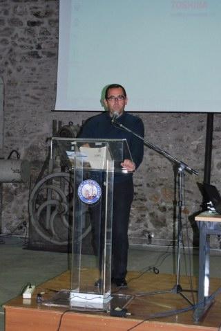 Ο κ. Θεμιστοκλής Μπαλασόπουλος, πρόεδρος της Ε.Ε.  Π.Ο.Ε. – Ο.Τ.Α.
