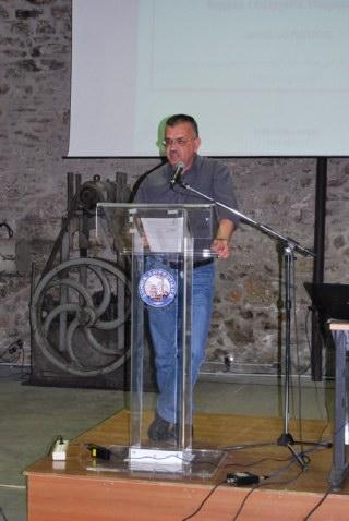 Ο κ. Τάσος Κεφαλάς, από την Πρωτοβουλία Συνεννόησης για τη διαχείριση απορριμμάτων στην Αττική
