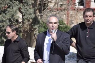 Ο Δήμαρχος Μαρκοπούλου Σωτήρης Μεθενίτης, απευθύνει χαιρετισμό και δηλώνει τη συμπαράστασή του στον αγώνα των κατοίκων της Κερατέας