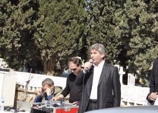 Ο Δήμαρχος Κορωπίου Δημήτρης Κιούσης, απευθύνει χαιρετισμό και δηλώνει τη συμπαράστασή του στον αγώνα των κατοίκων της Κερατέας