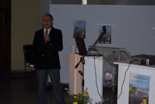 Ο κ. Δημητριάδης Αλέξανδρος, Διευθυντής της Διεύθυνσης Γεωχημείας  και Περιβάλλοντος του ΙΓΜΕ