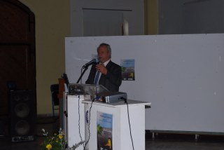 Ο κ. Μακρόπουλος Βασίλειος, καθηγητής επαγγελματικής και βιομηχανικής υγιεινής της Εθνικής Σχολής Δημόσιας Υγείας