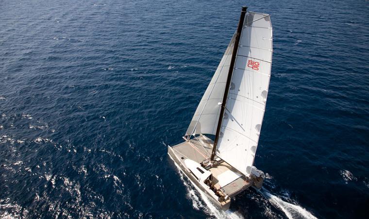 SIG45 Aerial Fastsailing