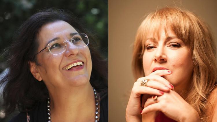 Mαρία Φαραντούρη και Έλλη Πασπαλά στον Φιλολογικό Σύλλογο «Παρνασσός»