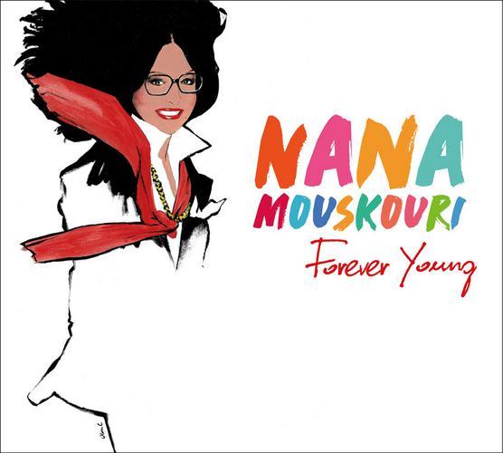 «Forever Young»- Νέο album από τη Νάνα Μούσχουρη